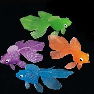 COLORFUL GOLDFISH BIRTHDAY PARTY FAVORS PINATA PRIZES TREAT BAG