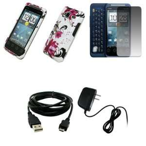 Wall Charger + USB Data Cable for Sprint HTC EVO Shift 4G Electronics