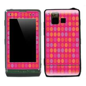 Pink Polka Dots Design Decal Protective Skin Sticker for