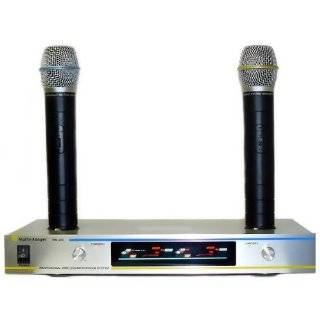 Martin Ranger WM 200 VHF Dual Channel Rechargeable Wireless Microphone