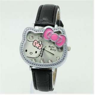 Newest Cute Hellokitty Lady Girl Kids Wristwatch Gift Fashion watches