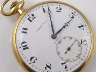 GOLD MADE FOR LONGINES POCKET WATCH 14K GOLD POCKET KNIFE CHAIN