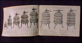 Giunta Bro Catalog Coffee Mill Wine Fruit Press Antique |