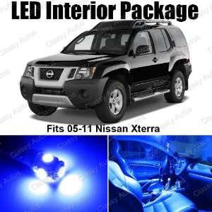 Nissan Xterra Blue Interior LED Package (8 Pieces