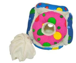 Hidden Treasure Treat Ball Plush Puzzle Dog Toy 0022900001062