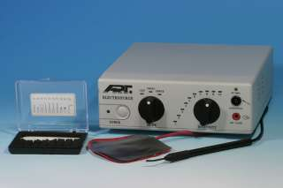 Dental Electrosurgery Cutting Unit w/ 7 Pc. Elect  220v