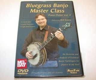 Power Pickin Vol. 4 DVD, Bluegrass Banjo Master Class
