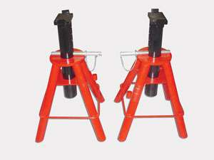 10 Ton Heavy Duty Jack Stands New Set Of 2 Adjustable