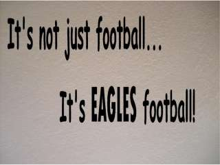 Philadelphia Eagles Football Vinyl Wall Decal Sticker