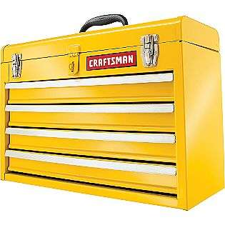 Drawer Metal Portable Chest   Yellow  Craftsman Tools Tool Storage