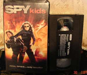 SPY KIDS family VHS VIDEO MOVIE~VGC~ONLY $2.75 To SHIP 786936161540