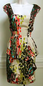 Jessica Simpson   Womens Sleeveless Dress, Size 4, Multi Color, New