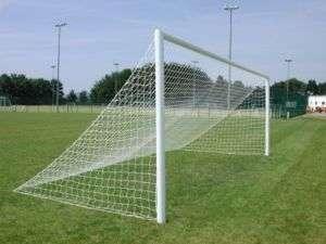 Full Size 24 x 8 Flat Back Football Goal Post Net