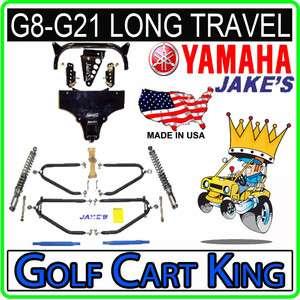 Yamaha G8 G21 Golf Cart Jakes Long Travel Lift Kit