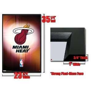 Framed Miami Heat Logo Poster 5419