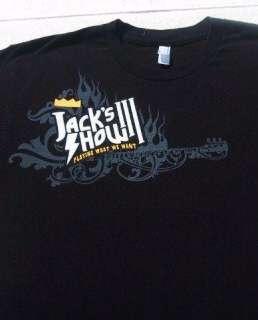 JACKS SHOW 2009 concert LARGE T SHIRT devo BILLY IDOL