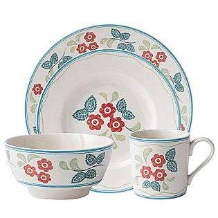 Farmhouse Kitchen Meadow Daisy 4pc Place Setting  Johnson Brothers