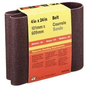 3M 9281NA Heavy Duty Power Sanding Belts, 4 Inch x 24 Inch