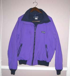 LANDSEND Purple Insulated Zipper Jacket Size M (38 40)