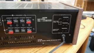 You are bidding on a Pioneer Stereo Integrated Amplifier Model SA 6800