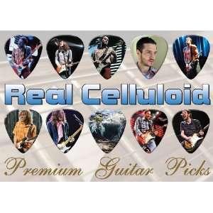 John Frusciante RHCP Premium Guitar Picks X 10 (A4
