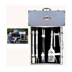 San Francisco Giants 8pc. BBQ Set w/Case Sports