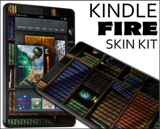 Kindle Fire Skin Vinyl Decal eBook Netbook Tablet #284 Books