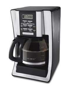 Mr. Coffee BVMC SJX33GT 12 Cup Programmable Coffeemaker Chrome