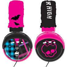 Monster High Plush Headphones   Sakar International
