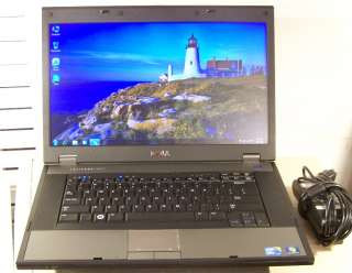 Dell Latitude laptop E5510 Intel Core i3 380M 2.53ghz Win 7 4GB/500GB