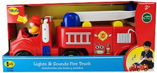 Bruin Lights and Sounds Fire Truck   Toys R Us