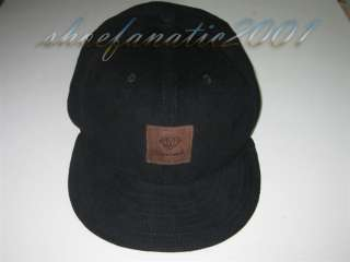 Diamond Supply Corduroy Cap Black Scale SA Cassie Black