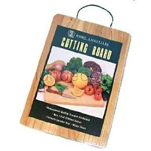 NEW Wood Cutting Board w/ Wire Hanger Kitchen Tool: Kitchen & Dining