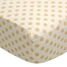 CoCaLo Snickerdoodle Fitted Crib Sheet   Cocalo   BabiesRUs