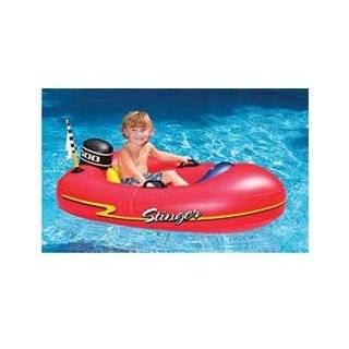 Inflatable Kids Motorized Swimming Pool Lake Boat Float