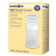 Us BPA Free Bottle Liners  100 Count   4oz   Babies R Us   BabiesR