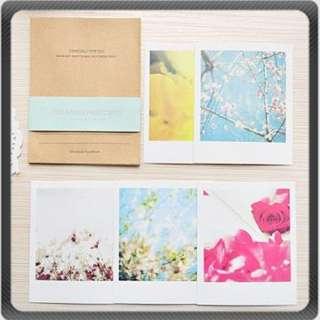 Set Memory Paper Postcard Cards Envelope Collectibles