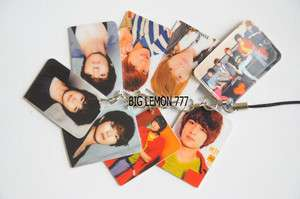 SHINEE Korean Band Mobile /Cell Phone Strap Keychain Keyring N14
