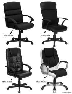 Office, Home Office Mid Back & High Back Leather Chairs