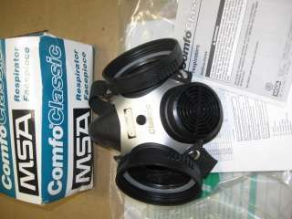 MSA 808053 Facepiece Med Comfo Classic Dual Cartridge