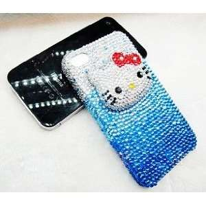 Swarovski Crystal Hello Kitty Style iPhone 4G Hard Case