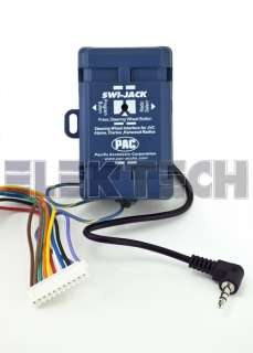 PAC SWI JACK STEERING WHEEL CONTROL INTERFACE CLARION