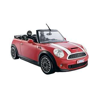 Barbie and Ken My Cool Mini Cooper Convertible Red Sports Car NEW