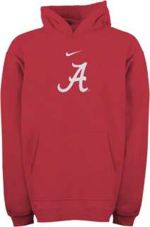 Alabama Crimson Tide Nike Hooded Sweatshirt sz Youth Medium