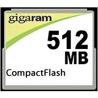 512MB CF Compact Flash type1 memory Card (CBD)