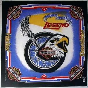 More Than A Legend Bandana Eagle Harley Davidson USA