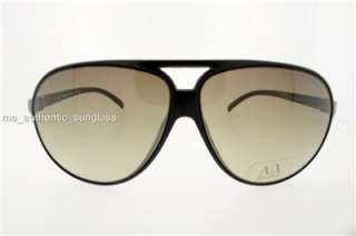 ARMANI EXCHANGE SUNGLASS AX 213 DL5 DB BLACK BROWN