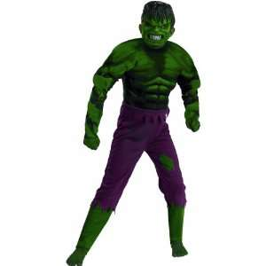 Hulk Muscle Chest Child Costume   Large Toys & Games