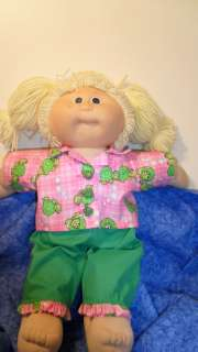 021203 New Handmade 16 Cabbage Patch Doll Clothes Pink with turtles