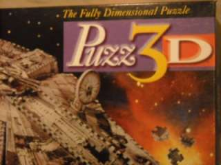 STAR WARS MILLENNIUM FALCON PUZZ3D SUPER CHALLENGING